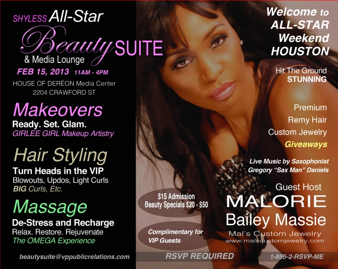 Shyless ASW 2013 Beauty Suite Flyer
