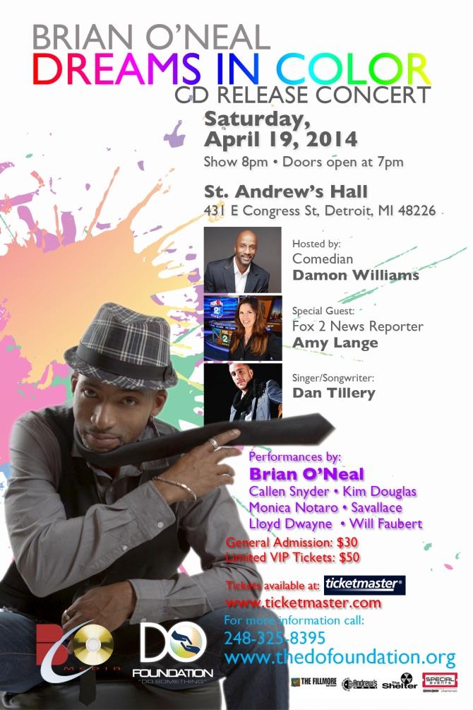 Brian O'Neal Dreams In Color Concert